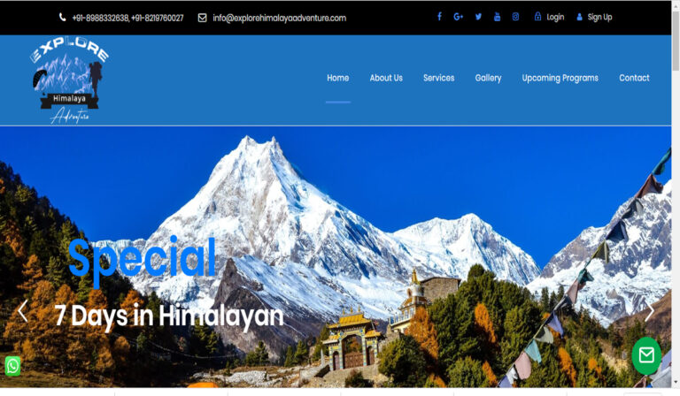 explore Himalaya Adventure