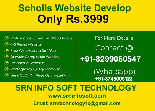School Website Development offer