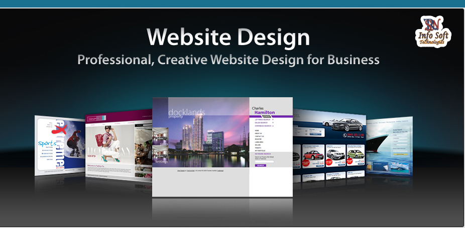 Build a website and change the way you do business with SRN Info Soft Technology